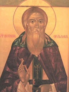 St Herman of Alaska by the hand of Vladislav Andreyev