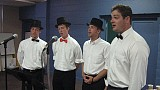 St Herman's Barbershop Quartet crooned and the ladies swooned.