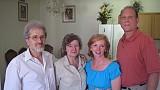 The royal parents: Fr Aurel and Presbytera Lidia Sas; Presbytera Nancy and Fr Paul Wesche